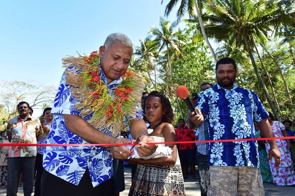 Opening of the Buca Bay Road, Savusavu by the Honourable Prime Minister