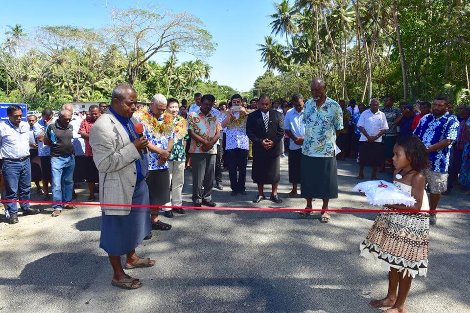 Opening of the Buca Bay Road, Savusavu