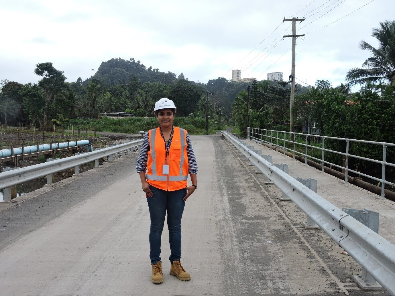 The new Vunidilo Bridge, Wailoku