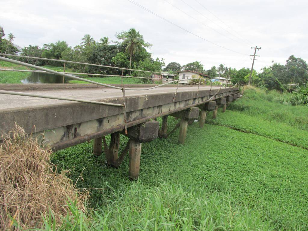 The Old Vunivaivai Bridge