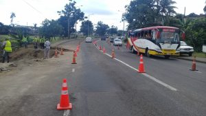 Road reinstatement works to begin by the FRA along Ratu Mara Road following the Nabua Sewer Trunk Repair (Supplied by FRA)