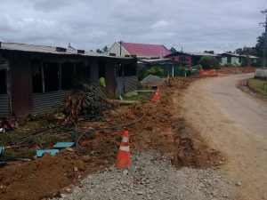 Image 2- WAF Pipe relocation work - Mara Road